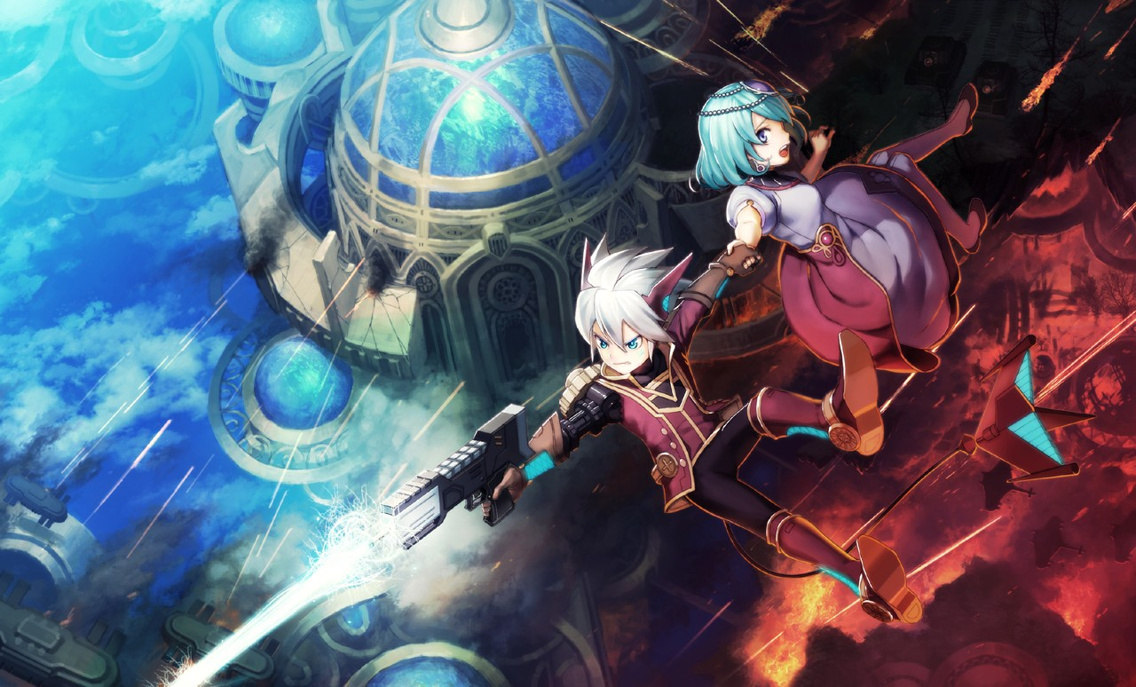 Rodea Sky Soldier artwork 01