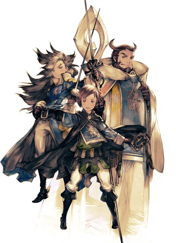 Tres Mosqueteros Bravely Second