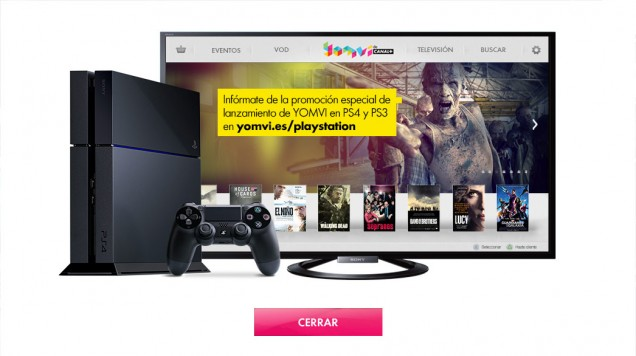 YOMVI PS4 PS3