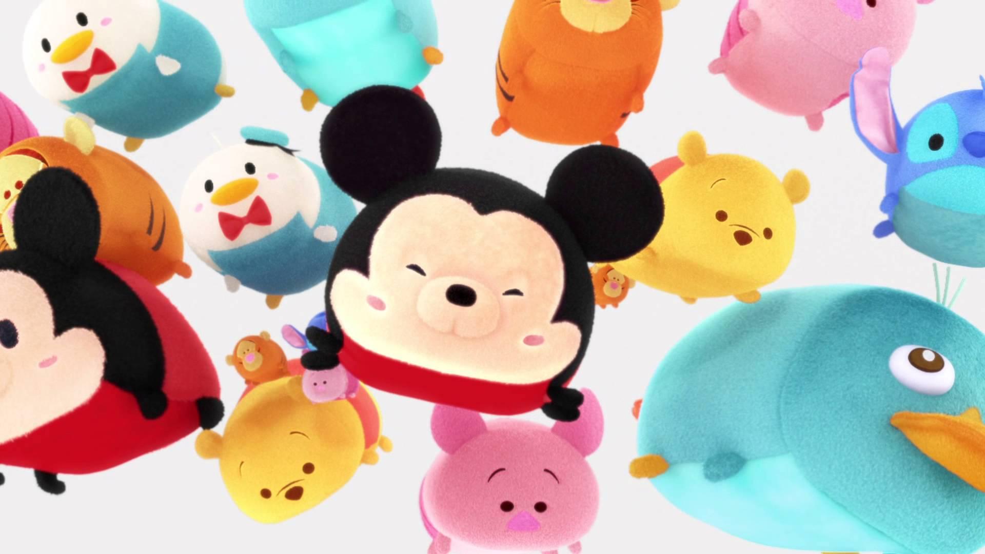 Conoce El Fenómeno Tsum Tsum: Cortos De Animación De 'Disney Tsum Tsum