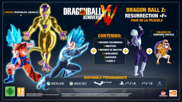 Dragon Ball Xenoverse DLC Resurrection F