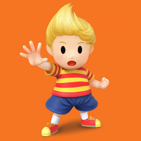 Lucas Smash Bros Wii U 3DS