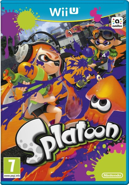 Splatoon PAL cover