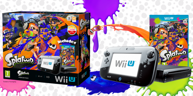 Wii U Splatoon pack