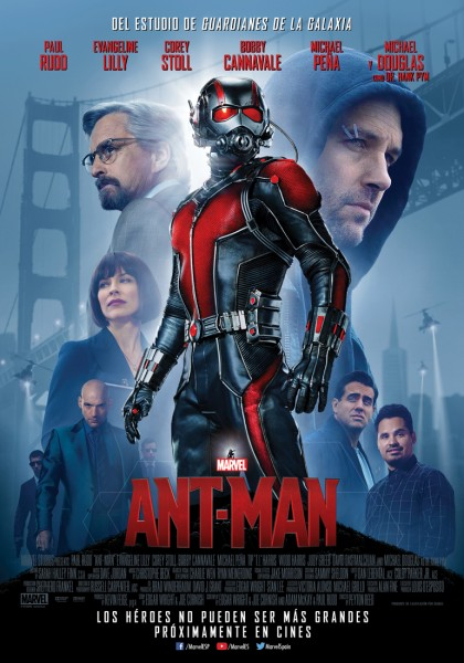 Ant Man poster Espana