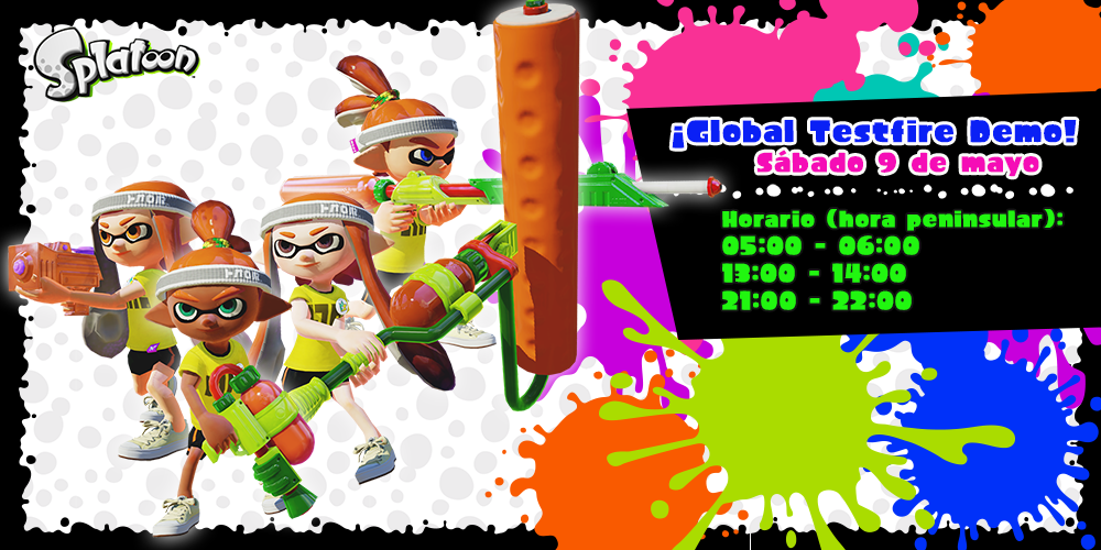 Global Testfire Demo Splatoon