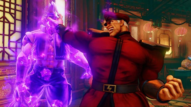 M Bison Street Fighter V