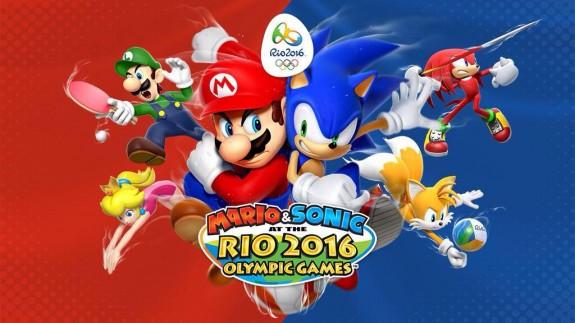 Mario Sonic Juegos Olimpicos Rio 2016