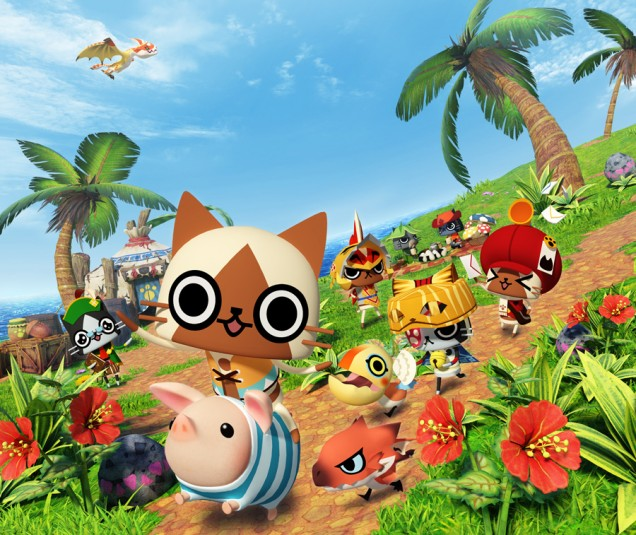 Monster Hunter Diary Poka Poka Palico Village DX
