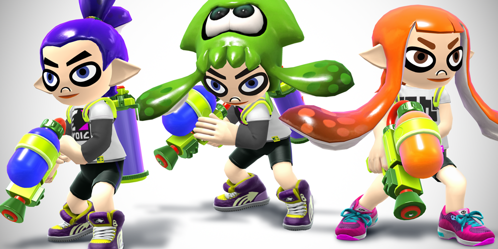 Splatoon Smash Bros Mii