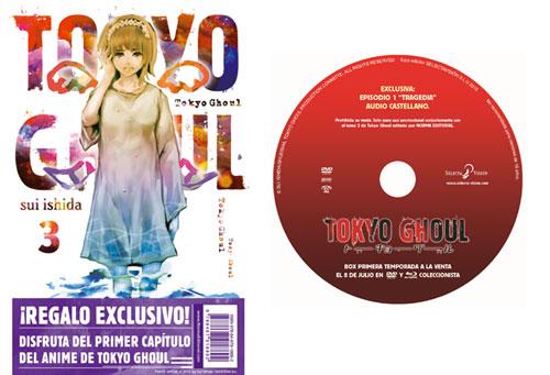 Tokyo Ghoul 3 Norma DVD
