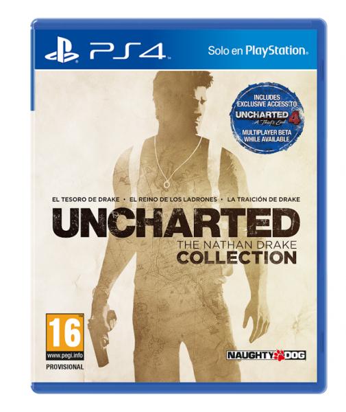 Uncharted Nathan Drake Collection ps4 pal