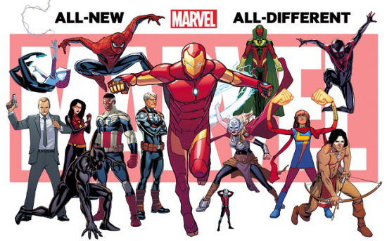allnewalldifferentmarvel