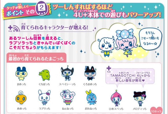 tamagotchi 4u plus 19