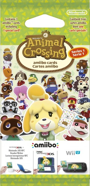 Tarjetas amiibo de Animal Crossing