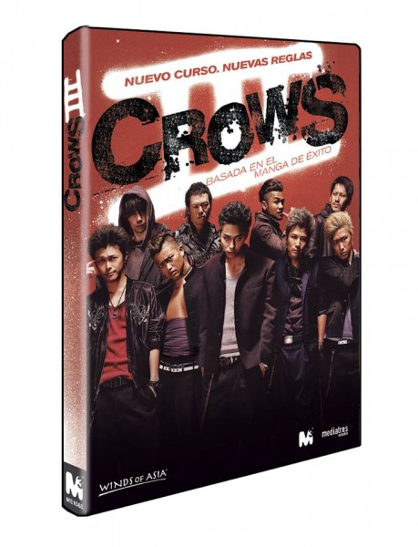 Crows III en DVD, por Mediatres Estudio