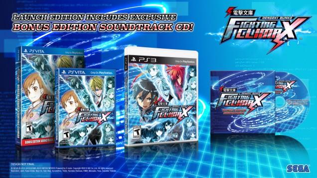 Dengeki Bunko Fighting Climax edición especial