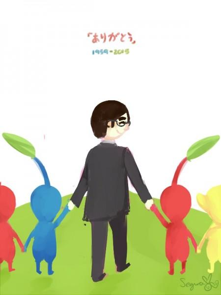 Dibujo de Satoru Iwata 01