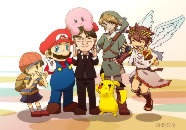 Dibujo de Satoru Iwata 02