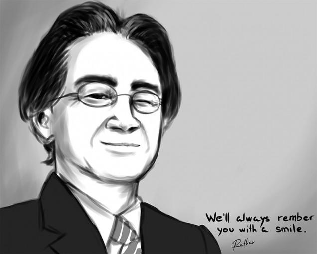 Dibujo de Satoru Iwata 05