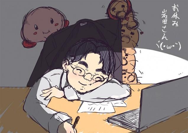 Dibujo de Satoru Iwata 08