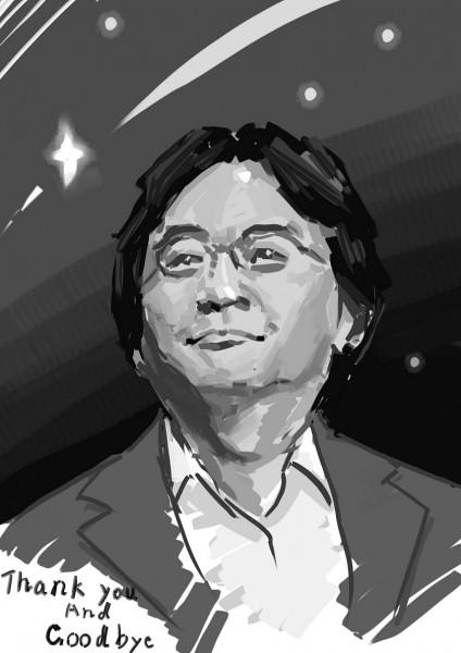 Dibujo de Satoru Iwata 09
