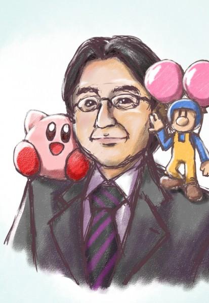 Dibujo de Satoru Iwata 13