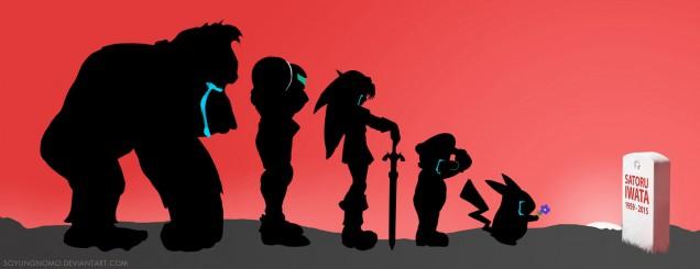 Dibujo de Satoru Iwata 14