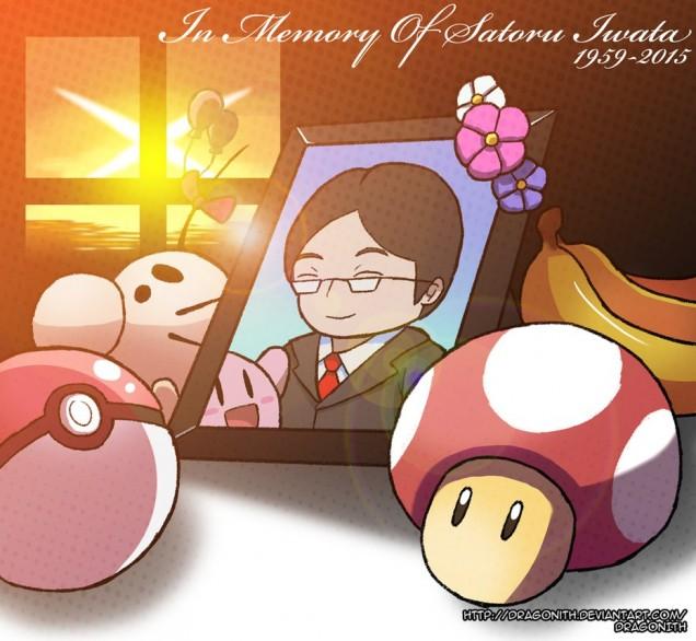 Dibujo de Satoru Iwata 15