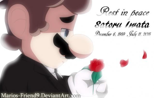 Dibujo de Satoru Iwata 16