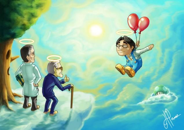 Dibujo de Satoru Iwata 19