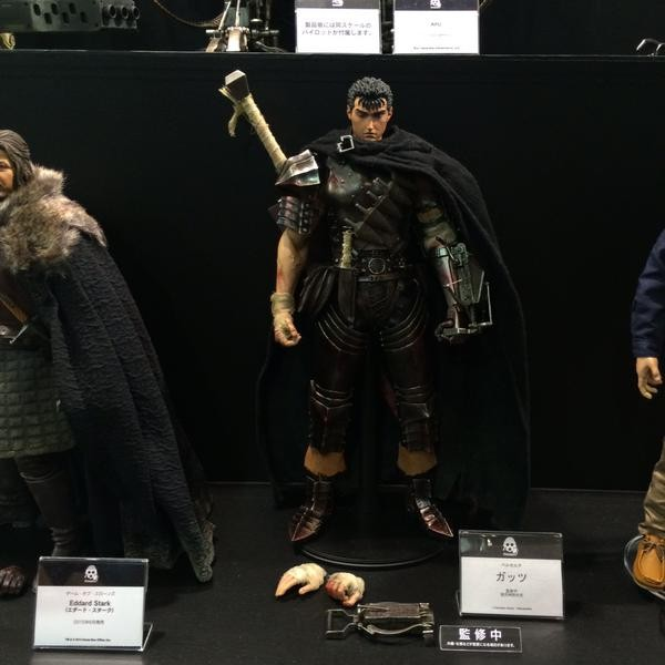 Berserk Guts Figure by Three Zero