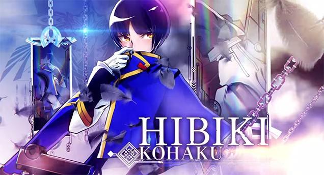 Hibiki Kohaku de BlazBlue Central Fiction