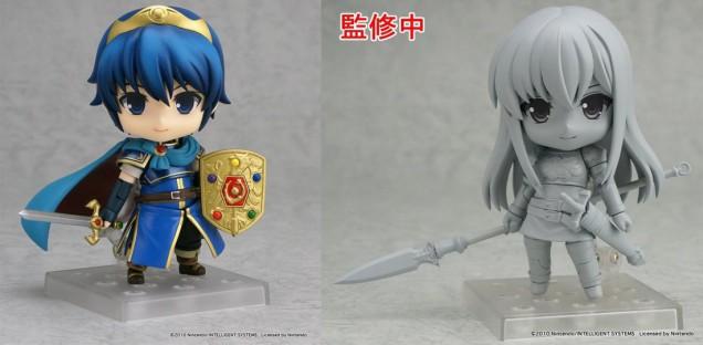 Nendoroid de Marth y Shiida, de Fire Emblem