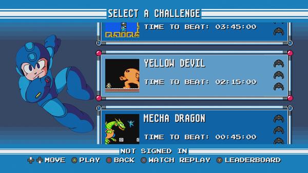 Desafíos de Mega Man Legacy Collection