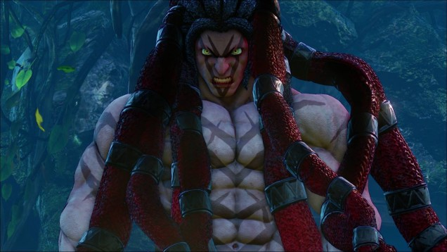Necalli Street Fighter V intro