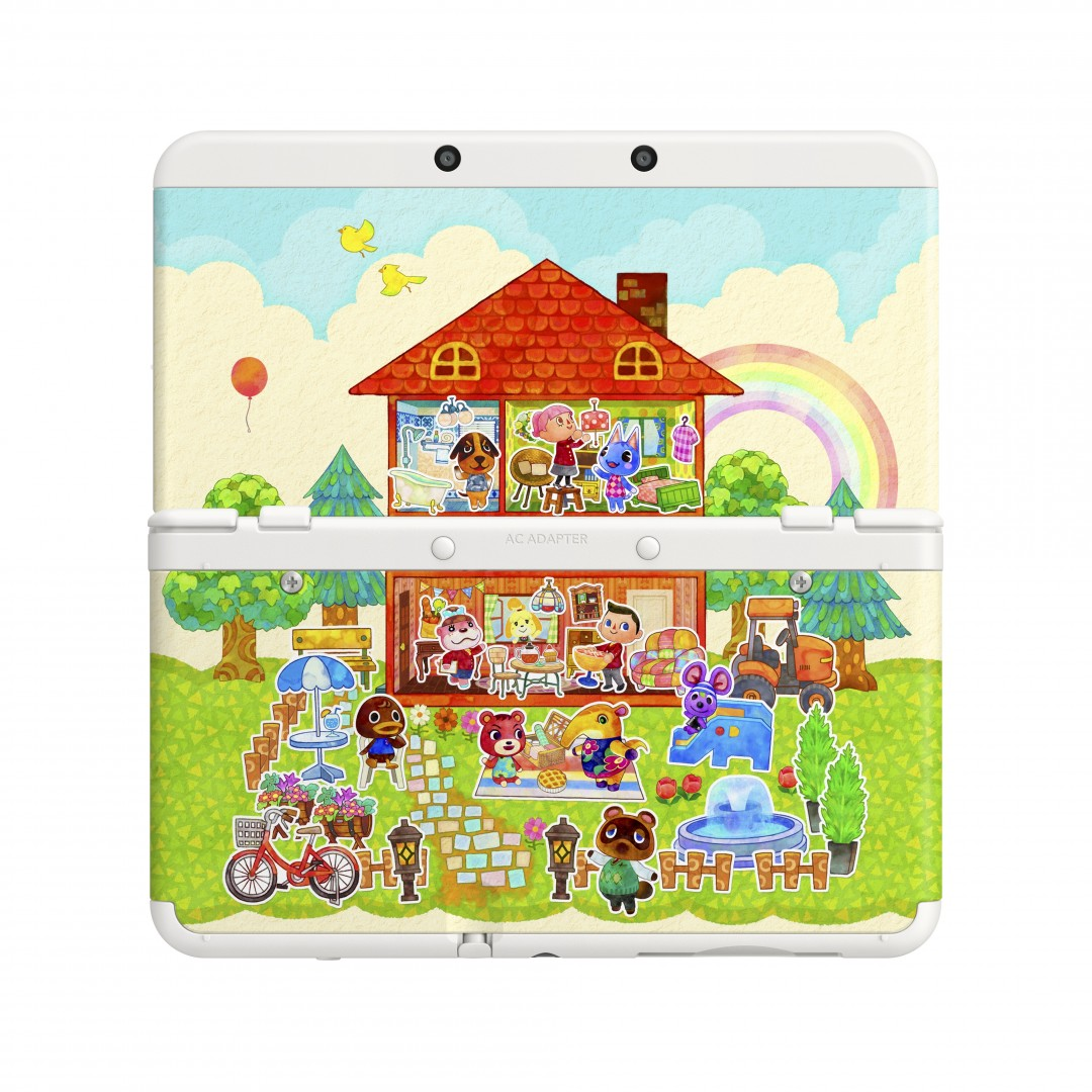 New 3DS de Animal Crossing Happy Home Designer