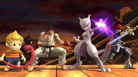 Pack luchadores mewtwo ryu