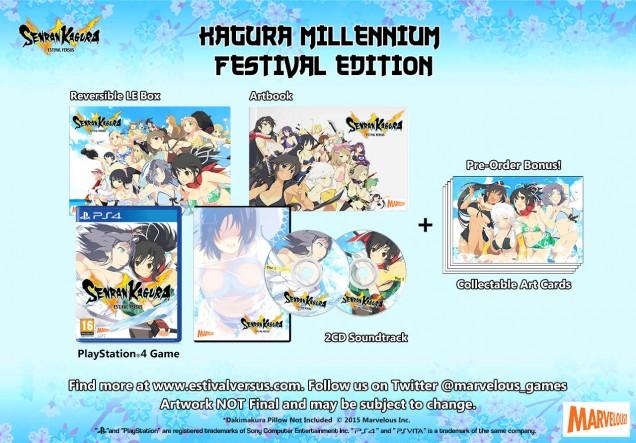 Senran Kagura Estival Versus Kagura Millennium Festival Edition PS4