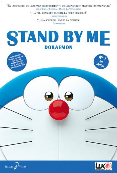 Cartel de Stand by Me Doraemon por Selecta Visión