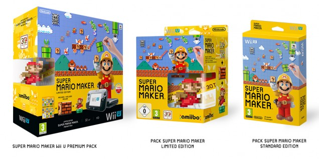 Packs de Super Mario Maker para Europa