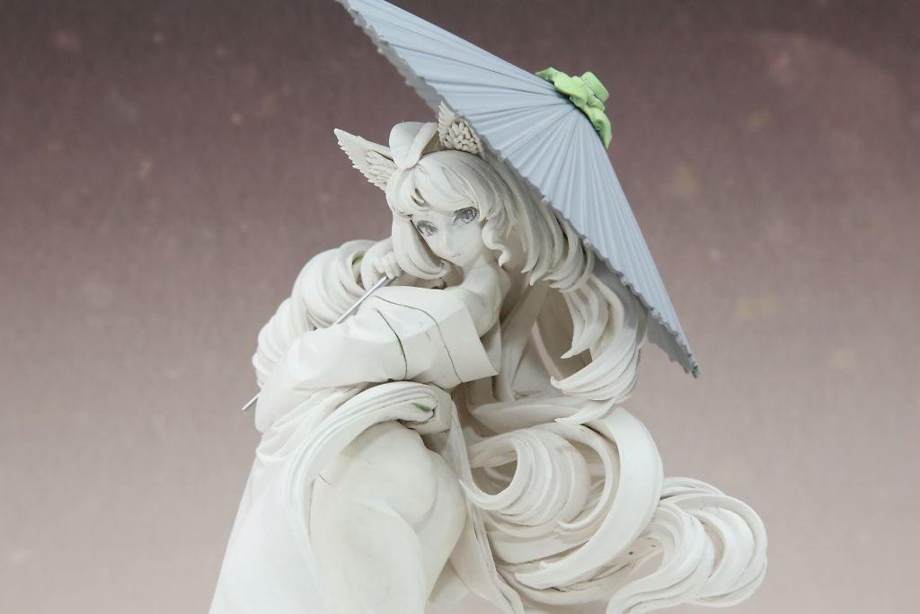 Figura de Yuzuruha por Alter, del videojuego Muramasa 2