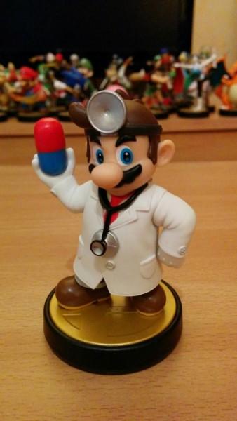 Amiibo de Dr Mario 01