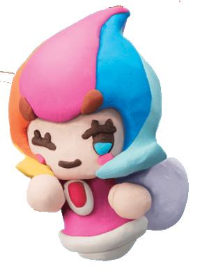 Kirby y el Pincel Arcoíris personaje