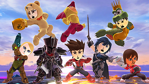 pack disfraces smash bros