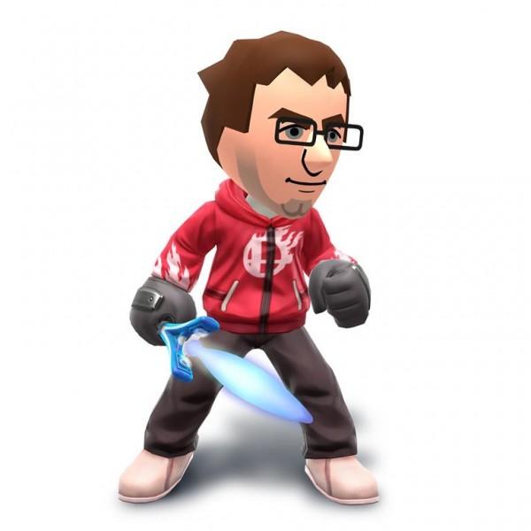 Chandal espadachin Super Smash Bros 3DS Wii U