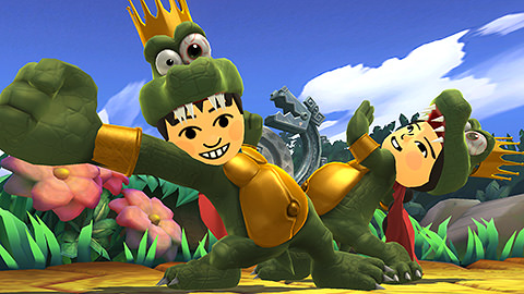 traje king k rool smash bros