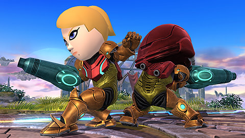 traje samus smash bros