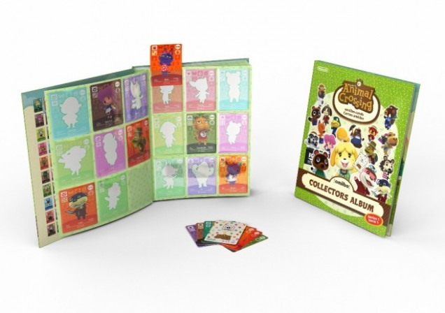 Album coleccionista Animal Crossing