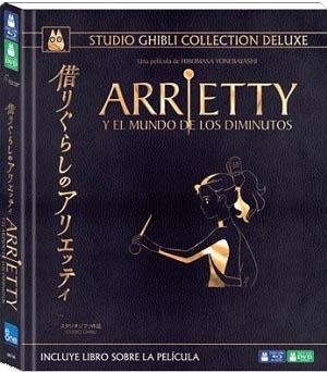 Arrietty y el mundo de los diminutos edición deluxe